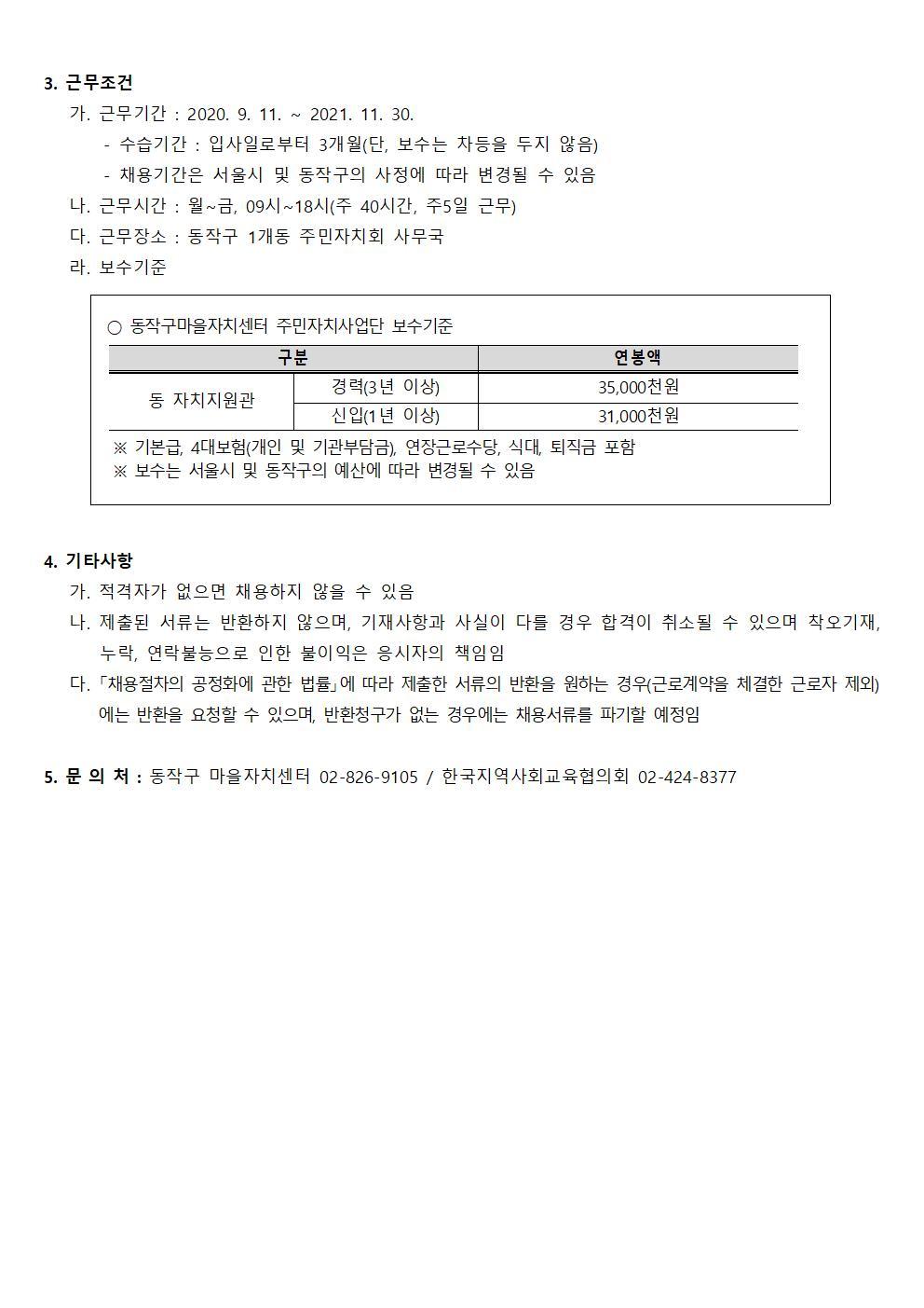 동작구마을자치센터 인력채용 모집 재공고문(2020.8.28002.jpg