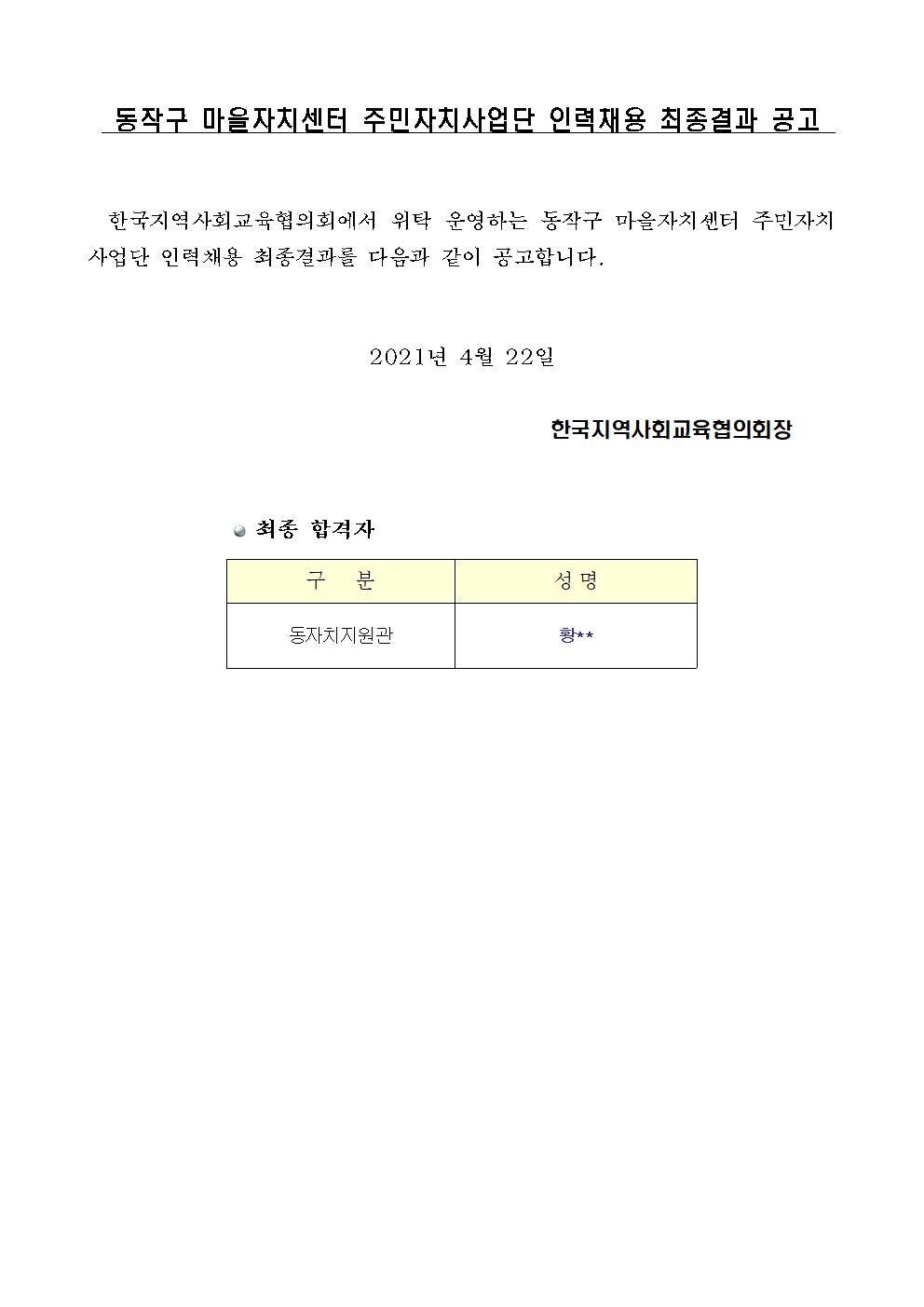 동작구주민자치사업단 인력채용 최종 결과001.jpg