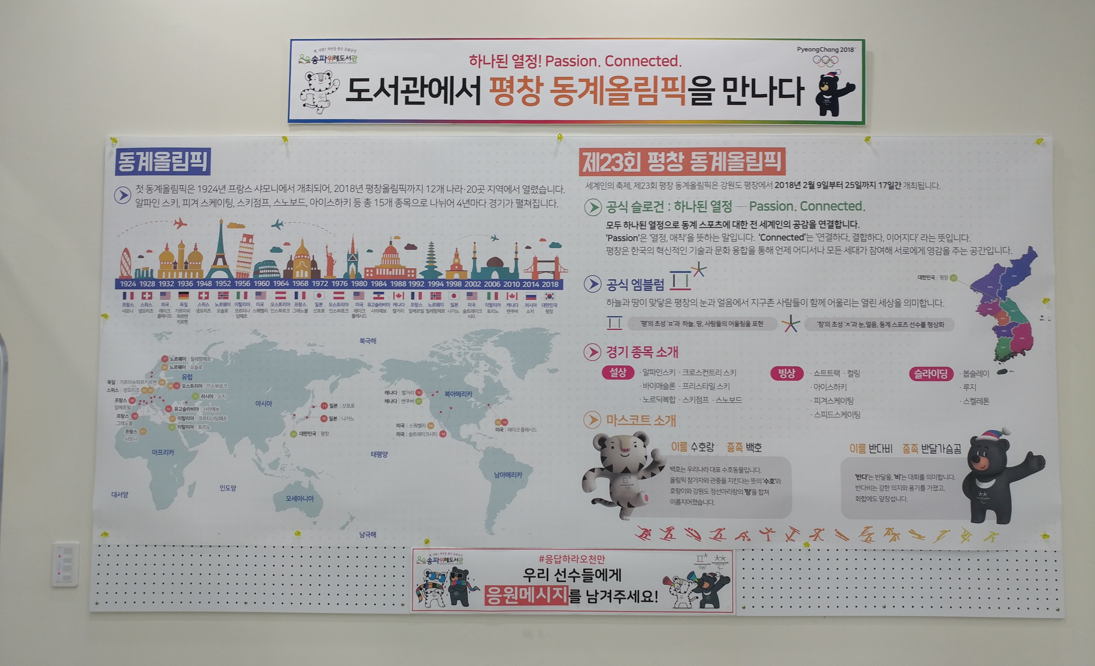 동계올림픽 현황 정보 지도 전시.jpg